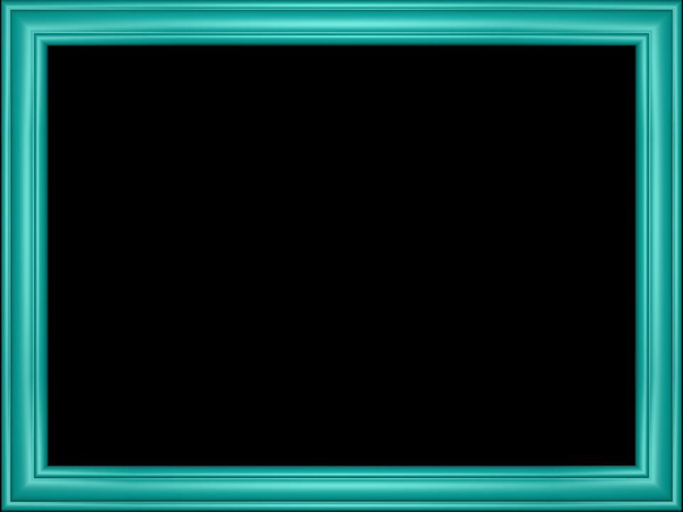 Elegant Embossed Frame Border in Aqua color, Rectangular perfect for Powerpoint