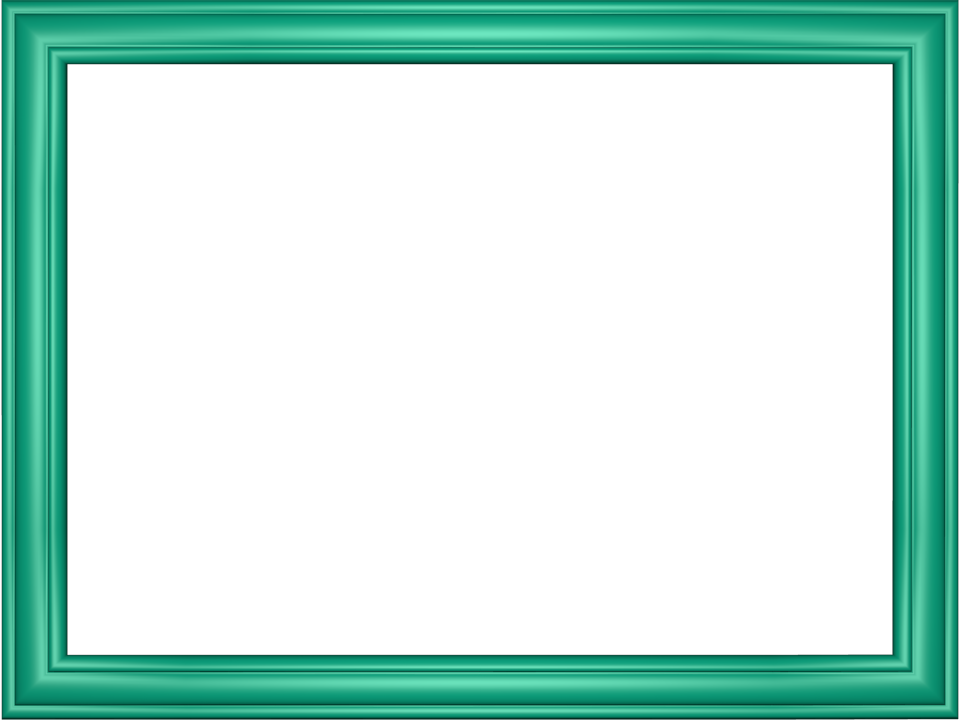 Elegant Embossed Frame Border in Cyan color, Rectangular perfect for ...