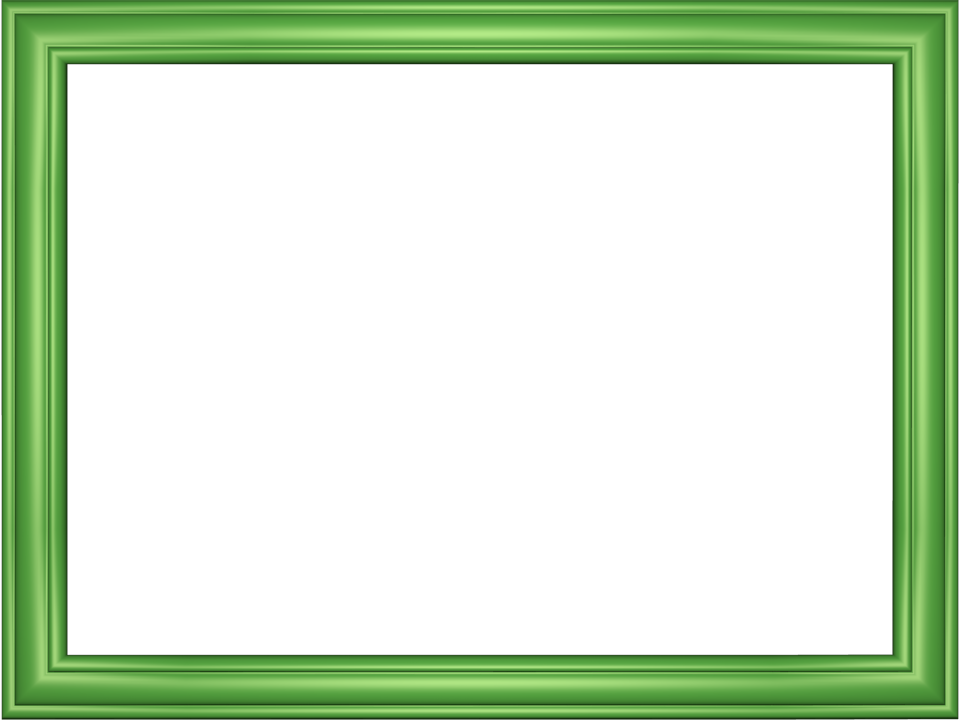 Elegant Embossed Frame Border in Light Green color, Rectangular ...
