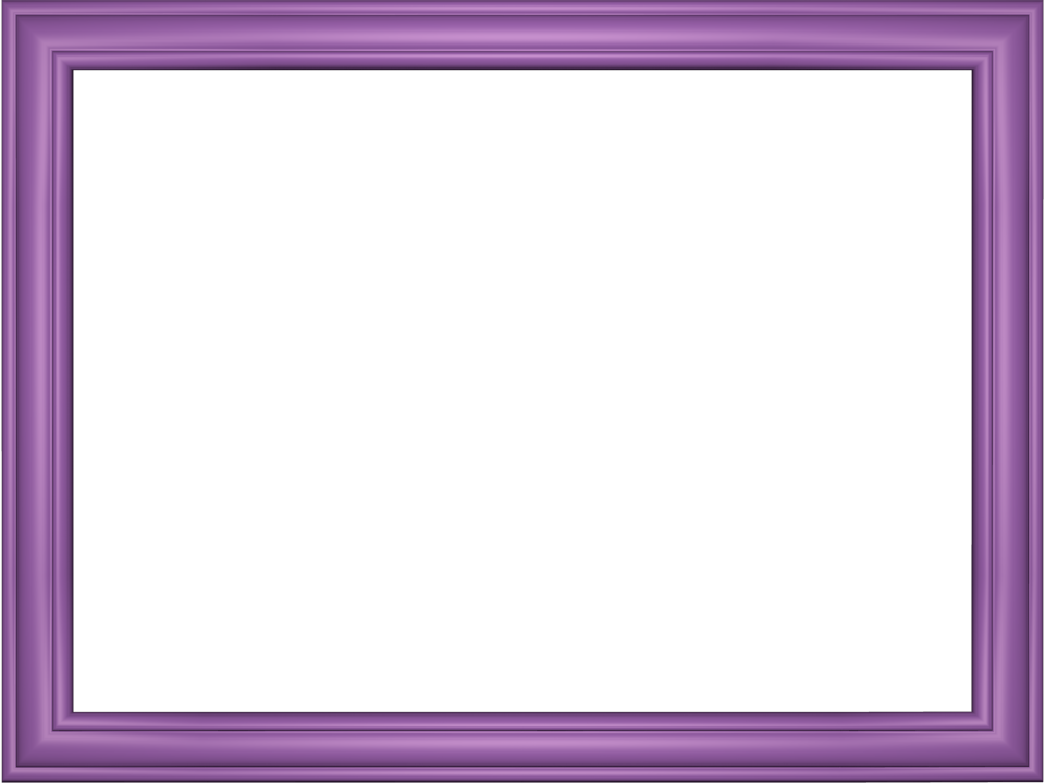 Mauve Elegant Embossed Frame Rectangular Powerpoint Border