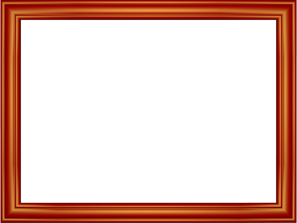 Red Elegant Embossed Frame Rectangular Powerpoint Border