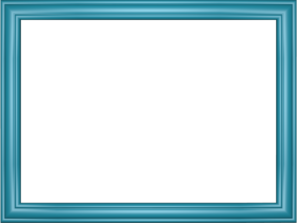 Elegant Embossed Frame Border in Light Blue color, Rectangular perfect for Powerpoint