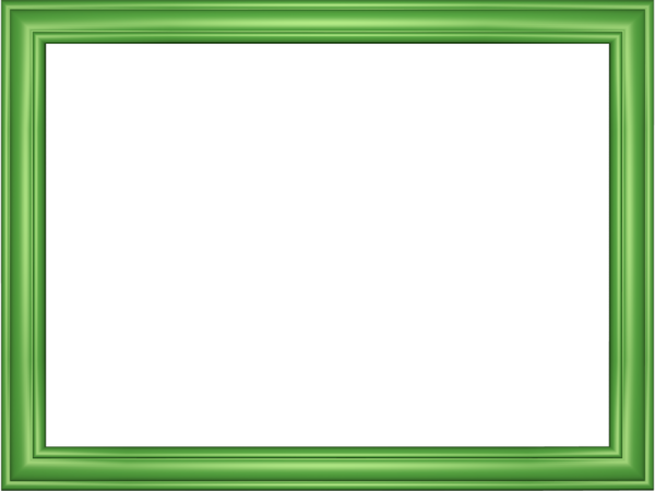 Elegant Embossed Frame Border in Light Green color, Rectangular perfect for Powerpoint