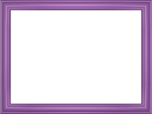 Elegant Embossed Frame Border in Mauve color, Rectangular perfect for Powerpoint